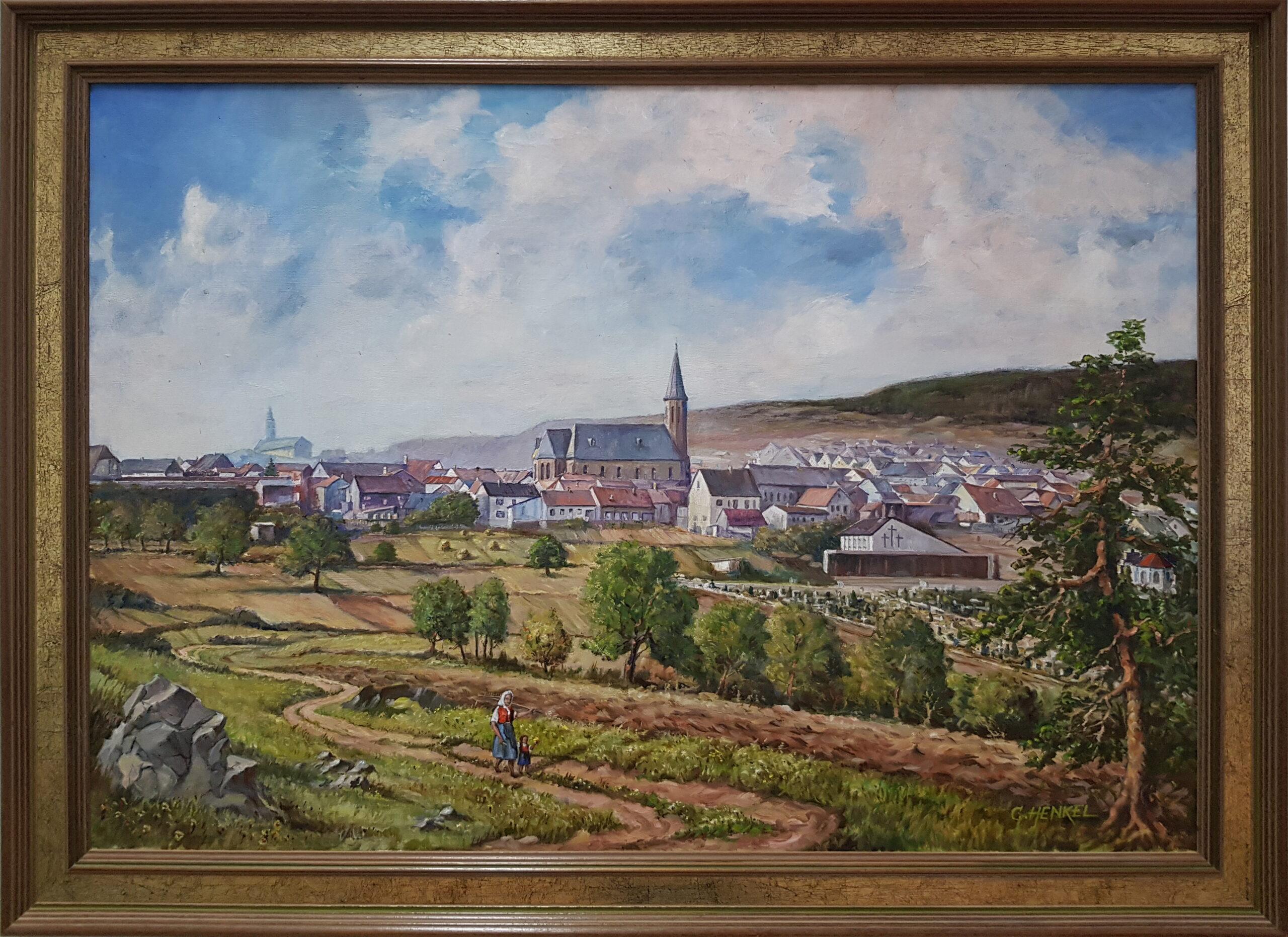 Gemälde im Rathaus